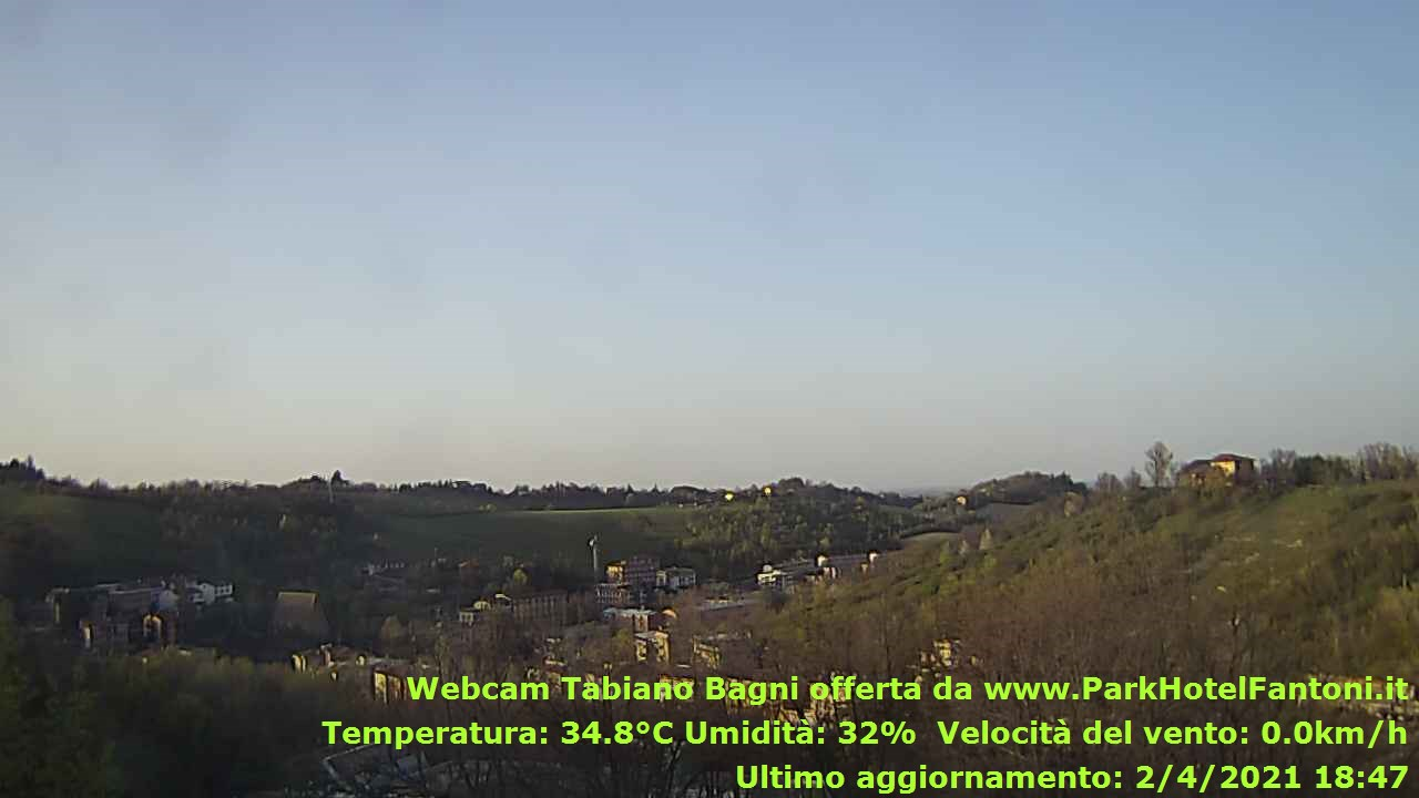 webcam tabiano terme
