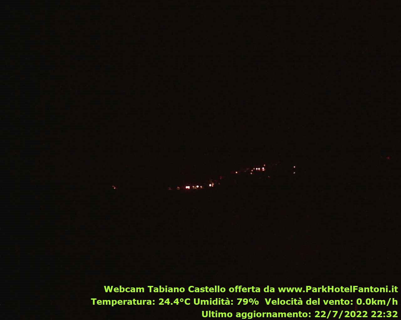 webcam tabiano castello